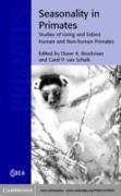 Cover-Bild zu Seasonality in Primates (eBook) von Schaik, Carel P. van (Hrsg.)