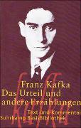 Cover-Bild zu Kafka, Franz: Das Urteil und andere Erzählungen