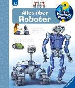 Cover-Bild zu Alles über Roboter von Erne, Andrea