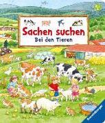 Cover-Bild zu Sachen suchen: Bei den Tieren von Gernhäuser, Susanne