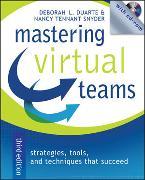 Cover-Bild zu Mastering Virtual Teams von Duarte, Deborah L.