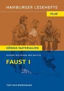 Cover-Bild zu Faust I von Goethe, Johann Wolfgang von