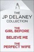 Cover-Bild zu JP Delaney: Three Thrillers in One (eBook) von Delaney, Jp