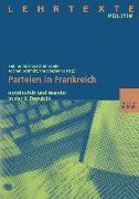 Cover-Bild zu Parteien in Frankreich (eBook) von Ruß, Sabine (Hrsg.)