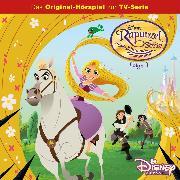 Cover-Bild zu Disney / Rapunzel - Folge 01: Zum Haare raufen/Rapunzels Feind (Audio Download) von Koch, Dieter