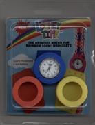Cover-Bild zu Rainbow Loom Limited Edition. Loomey Time? Armbanduhren-Set. rot-gelb-blau