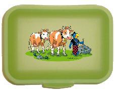 Cover-Bild zu Globi Lunchbox Alp grün