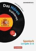 Cover-Bild zu Lernjahr 3/4 - Das Hören trainieren von Calderón Villarino, Isabel