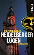 Cover-Bild zu Heidelberger Lügen von Burger, Wolfgang