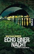 Cover-Bild zu Echo einer Nacht von Burger, Wolfgang