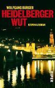 Cover-Bild zu Heidelberger Wut von Burger, Wolfgang