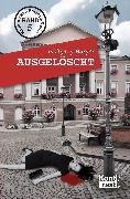 Cover-Bild zu Ausgelöscht (eBook) von Burger, Wolfgang