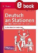 Cover-Bild zu Deutsch an Stationen Buchstaben kennenlernen (eBook) von Bettner, Melanie