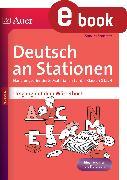 Cover-Bild zu Deutsch an Stationen Umgang mit dem Wörterbuch (eBook) von Sommer, Sandra