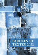 Cover-Bild zu Paroles et Textes 2022 von Herrnhuter Brüdergemeine (Hrsg.)