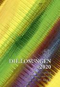 Cover-Bild zu Die Losungen 2020 Deutschland / Die Losungen 2020 von Herrnhuter Brüdergemeine (Hrsg.)