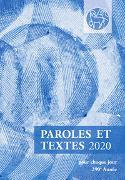 Cover-Bild zu Paroles et Textes 2020 von Herrnhuter Brüdergemeine (Hrsg.)