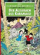 Cover-Bild zu Die Abenteuer von Jo, Jette und Jocko 02: Der Ausbruch des Karamako von Hergé,
