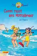 Cover-Bild zu Conni-Erzählbände 5: Conni reist ans Mittelmeer (farbig illustriert) von Boehme, Julia