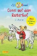 Cover-Bild zu Conni auf dem Reiterhof mit farbigen Illustrationen von Boehme, Julia