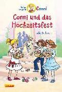 Cover-Bild zu Conni und das Hochzeitsfest mit farbigen Illustrationen von Boehme, Julia