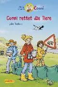 Cover-Bild zu Conni-Erzählbände 17: Conni rettet die Tiere (farbig illustriert) von Boehme, Julia