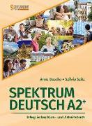 Cover-Bild zu Spektrum Deutsch A2+: Integriertes Kurs- und Arbeitsbuch für Deutsch als Fremdsprache von Buscha, Anne
