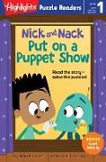Cover-Bild zu Nick and Nack Put on a Puppet Show (eBook) von Budzi, Brandon