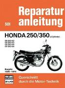 Cover-Bild zu Honda 250/350 (2 Zylinder) Baujahr 1970-1974