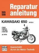 Cover-Bild zu Kawasaki 650 (4 Zyl.) ab 1976