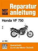 Cover-Bild zu Honda VF 750 / S / C / ab 1982