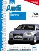 Cover-Bild zu Audi A4 - Baujahre 2000-2007 Benziner/Diesel
