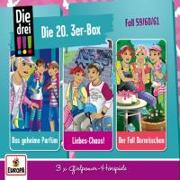 Cover-Bild zu Die drei !!!: Die 20. 3er Box (Folgen 59,60,61)