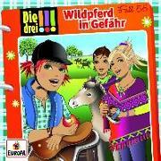 Cover-Bild zu Wildpferd in Gefahr von Biber, Ina