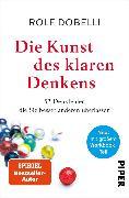 Cover-Bild zu Die Kunst des klaren Denkens (eBook) von Dobelli, Rolf
