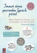 """Cover-Bild zu Meine Sprüche Sticker """"live-love-teach"""" von Verlag an der Ruhr, Redaktionsteam"""