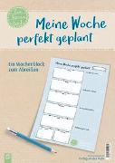 Cover-Bild zu Meine Woche perfekt geplant, live - love - teach von Verlag an der Ruhr, Redaktionsteam