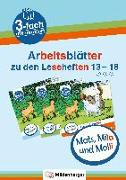 Cover-Bild zu Mats, Mila und Molli - Arbeitsblätter zu den Leseheften 13 - 18 (A B C) von Wolber, Axel