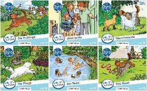 Cover-Bild zu Mats, Mila und Molli - Heft 13-18, Schwierigkeitsstufe A von Wolber, Axel