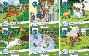Cover-Bild zu Mats, Mila und Molli - Heft 13 - 18, Schwierigkeitsstufe B von Wolber, Axel