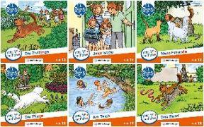 Cover-Bild zu Mats, Mila und Molli - Heft 13-18, Schwierigkeitsstufe C von Wolber, Axel