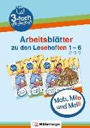 Cover-Bild zu Mats, Mila und Molli - Arbeitsblätter zu den Leseheften 1 - 6 (A B C) von Wolber, Axel