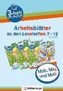 Cover-Bild zu Mats, Mila und Molli - Arbeitsblätter zu den Leseheften 7 - 12 (A B C) von Wolber, Axel