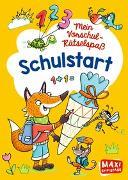Cover-Bild zu Mein Vorschul-Rätselspaß. Schulstart von Thau, Christine (Illustr.)