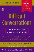 Cover-Bild zu Difficult Conversations von Stone, Douglas