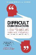 Cover-Bild zu Difficult Conversations von Patton, Bruce