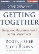 Cover-Bild zu Getting Together: Building Relationships as We Negotiate von Fisher, Roger