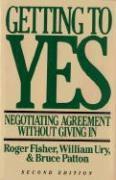 Cover-Bild zu Getting to Yes von Ury, William L.