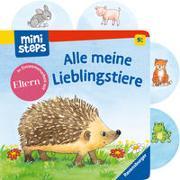 Cover-Bild zu ministeps: Alle meine Lieblingstiere von Grimm, Sandra