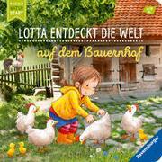 Cover-Bild zu Lotta entdeckt die Welt: Auf dem Bauernhof von Grimm, Sandra
